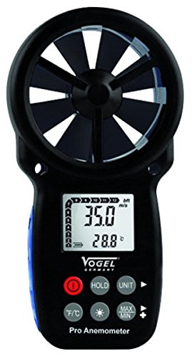 Vogel 641205 - Anemómetro electronico digital 165x85x38mm
