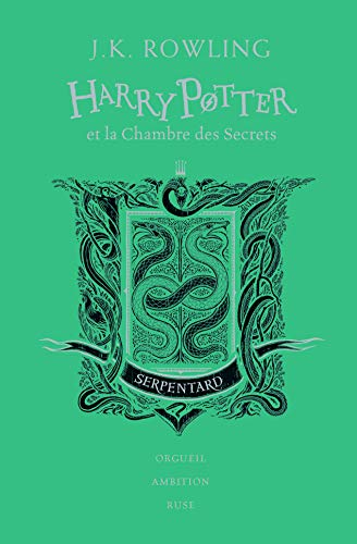Harry Potter, II : Harry Potter et la Chambre des Secrets: Serpentard (Grand format littérature - Romans Ado)