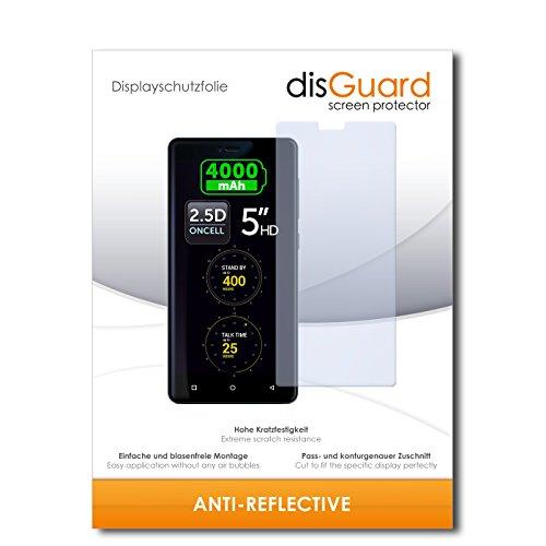disGuard® Bildschirmschutzfolie [Anti-Reflex] kompatibel mit Allview P8 Energy Mini [2 Stück] Entspiegelnd, Matt, Antireflektierend, Extrem Kratzfest, Anti-Fingerabdruck - Panzerglas Folie, Schutzfolie