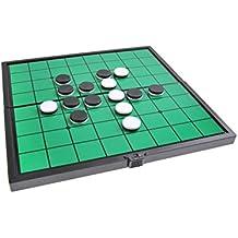 Quantum Abacus Juego de Mesa magnético (tamaño Compacto de Viaje): Reversible - Piezas
