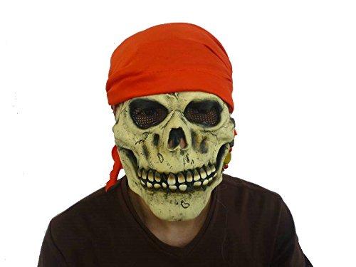 (Generique - Piraten Totenkopf Maske aus Latex)