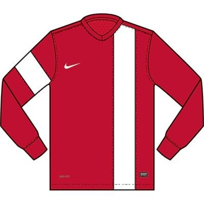 Nike Long Sleeve Top Striker III Jersey university red/white