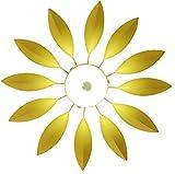 GRFH Modern Sun Flower Flower Deckenleuchte Schlafzimmer Wohnzimmer Farbe Kinderzimmer Led Deckenleuchte , yellow