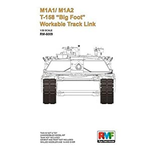 Rye Field Model RM de 500930502000m1a1/m1a2T de 158Big Foot workable Track Link