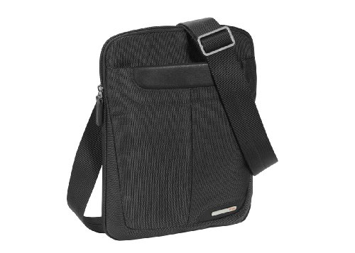 Nava Easy iPad Crossover, Handtasche Tascapane, unisex-adulto Schwarz
