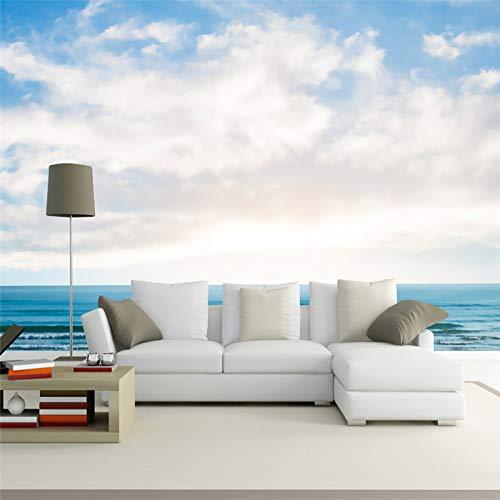 Papiers peints Europe style murale 3D fond d'écran nature paysage bleu ciel horizon fond d'écran pour salle de séjour décor à la maiso
