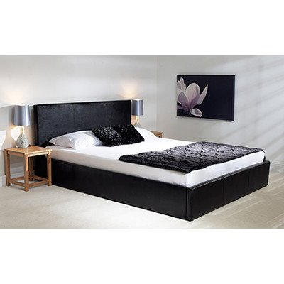 Madrid Ottoman Bed Frame Colour: Black, Size: Super King (6') - cheap UK light shop.