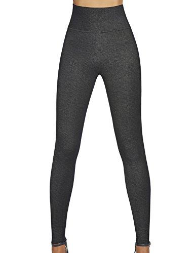 Bas Bleu–Leggings Jean con cinturón adelgazante alta calidad TALLA L
