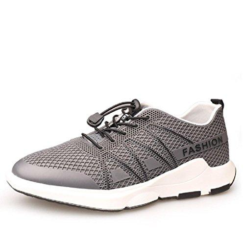 Hommes Chaussures de loisirs Mode Chaussures de course Entraînement Chaussures plates Baskets EUR TAILLE 39-43 gray