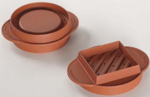 Preisvergleich Produktbild Nordic Ware 365 Burger Maker Füller für den Innen- und Außenbereich – Grill,  Ofen