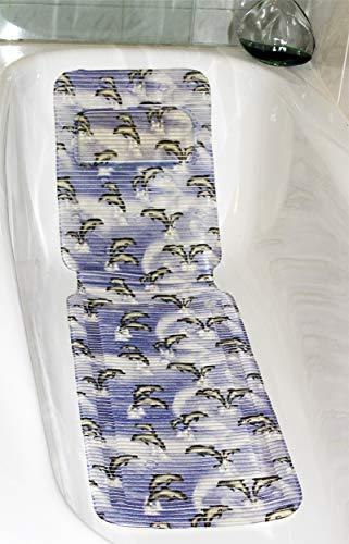 XXL Wanneneinlage Delfin mit Kopfkissen