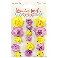 Dovecraft Premium Blooming Lovely Paper Craft Collection Pearls 91pc