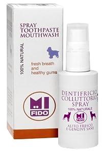 Fido Dentifrice/bain de bouche en spray pour chiens 50ml