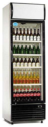 Flaschenkühlschrank 430 Liter Kühlschrank Umluftkühlung Getränkekühlschrank Gewerbekühlschrank 620 x 690 x 2073 mm