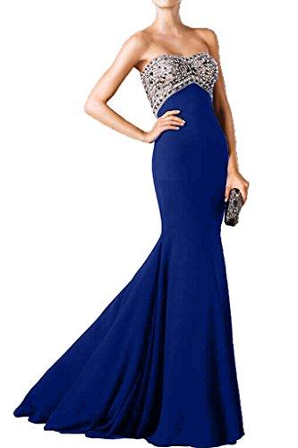 Promgirl House - Robe - Crayon - Femme Bleu - Bleu royal