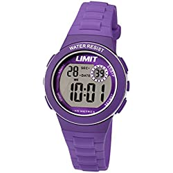 Limit Kids Digital Purple Resin Strap 5585.24