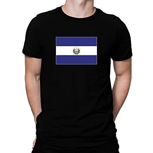 Teeburon El Salvador Flag T-Shirt (Flag El Salvador T-shirt)