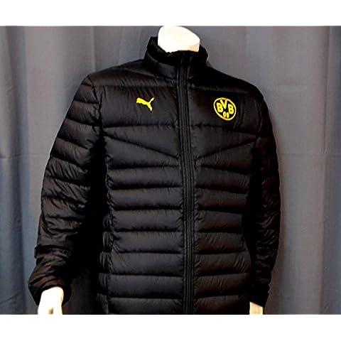 Puma BVB 09Borussia Dortmund Coach Chaqueta en plumón Chaleco Jacket Bundesliga gr XL