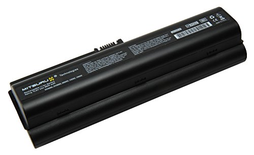 Mitsuru V3000 Laptop Akku für HP-Compaq Presario DV6000/V3010/V3020/V3030/V3040/V3050/V3060/V3070/V6000 Serie 8800mAh schwarz (V6000 Akku Compaq Hp)