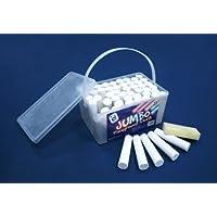 Cubo de tiza Jumbo – 52 palillos de tiza blanca