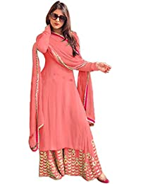 6dc4d676f30 Amazon.in  Pinks - Dress Material   Ethnic Wear  Clothing   Accessories