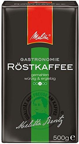 Melitta Gastronomie Röstkaffee 500g gemahlen - würzig und ergiebig