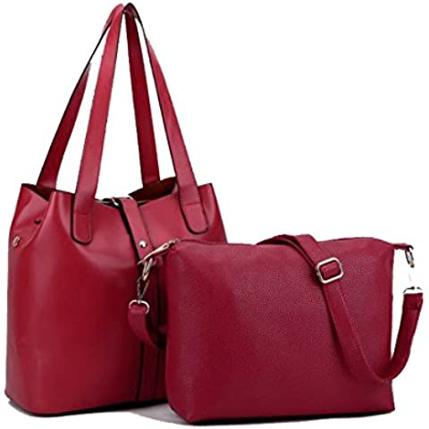 Tote Bag Lady borsa da donna Vintage dignitoso borsa a