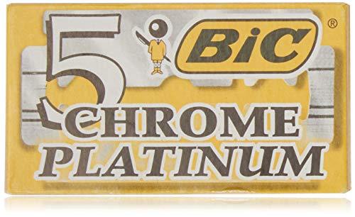 Klingen BIC chrom Platin X5Klingen