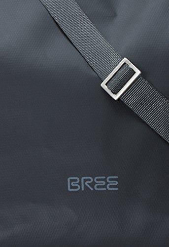 BREE, Borsa a spalla donna Blu skydiver-hellblau 30 cm x 30,5 cm x 12 cm (B x H x T) black