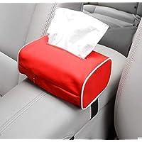 HJLHFD Car Armrest Box Tissue Box Seat Back Sun Visor Car Interior Center Console Tissues Paper Napkins Pantry