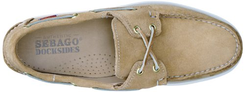 Sebago Docksides, Chaussures Bateau Homme Beige (Sand Suede)
