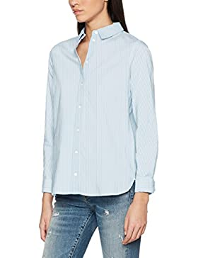 Vero Moda Vmkate Isabell L/S Long Shirt Noos, Blusa para Mujer
