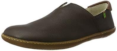 Die Naturalista N275, Slip-on Schuhe Unisex, Schwarz (Pull Grain Black), 37