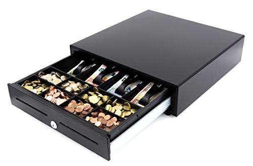 ADONIA TEQ-410-TPE tiroir Porte-monnaie Noir