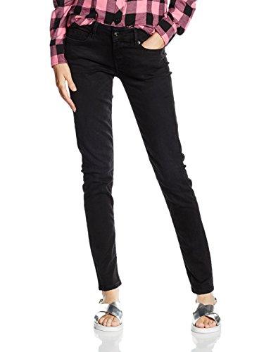 Pepe Jeans Soho, Vaqueros para Mujer, Negro (10Oz Washed Black S98), 27W / 28L