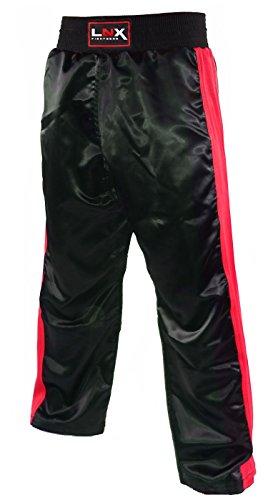 LNX Kickboxhose X-Mesh schwarz/rot (003) XXL