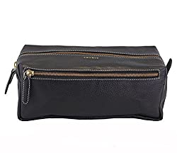 Adamis Leather Wash Bags