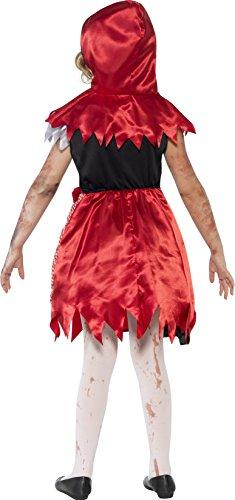 Imagen de smiffy's  disfraz zombi caperucita roja, para niñas 44285m  alternativa