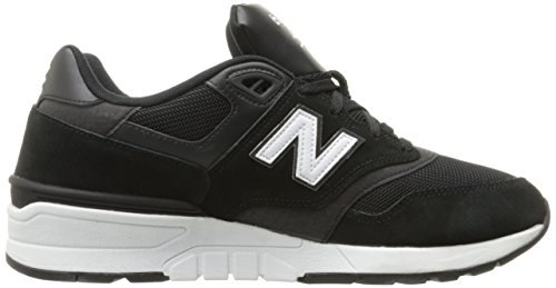 New Balance Herren 597 Laufschuhe Schwarz (Black) QRNXZG1d