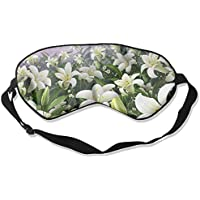 White Floral Flowers Sleep Eyes Masks - Comfortable Sleeping Mask Eye Cover For Travelling Night Noon Nap Mediation... preisvergleich bei billige-tabletten.eu