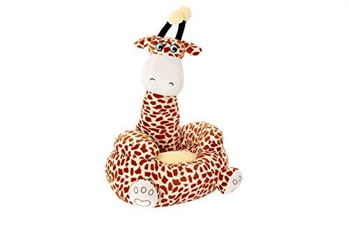 comfi-plush Giraffe children kids plush soft toddler chair seat nursery baby sofa gift elephant giraffe bear unicorn birthday toy