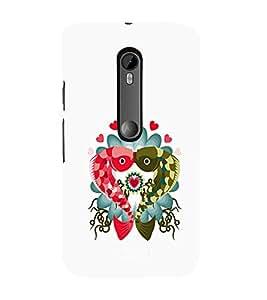 Ebby Premium 3d Desinger Printed Back Case Cover For Moto X Play (Premium Desinger Case)