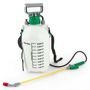 Spruzzatore pompa irroratrice a pressione 5 litri amazon for Spruzzatori giardino