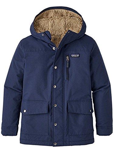 Patagonia infurno Jacke, Kinder XL Blau/Khaki (Navy Blue w/EL Cap Khaki) -