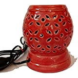 Round Shape Ceramic Electric Aroma Oil Diffuser/Burne