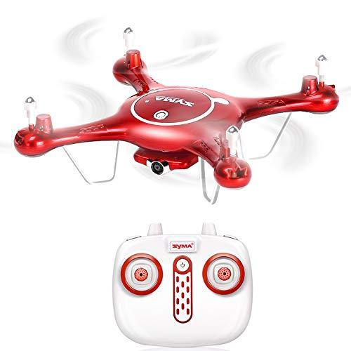 E-kia drone con telecamera radiocomandati,live video e gps return home, telecomando da 150 m,red