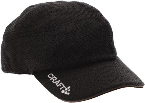 Craft Schildkappe Running Cap Kappe, Schwarz, One size
