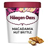 Häagen-Dazs Macadamia Nut Brittle Ice Cream, 460ml (Frozen)