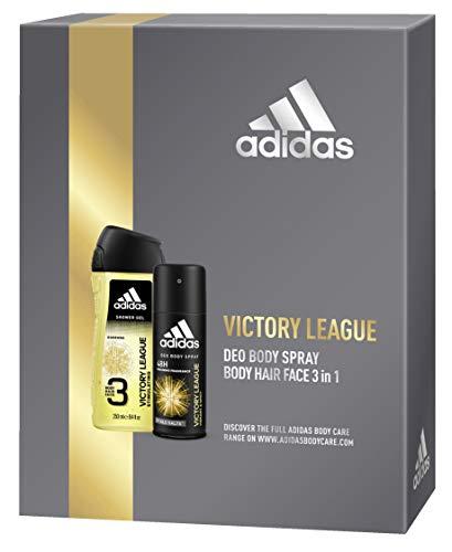 adidas Victore League Geschenkset Body Spray + Duschgel, 350 g