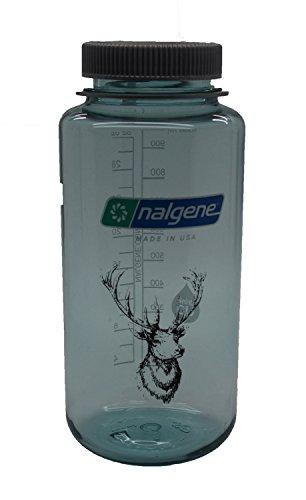 Preisvergleich Produktbild Nalgene 'Everyday Weithals' - 1 Liter, seafoam, Hirschkopf